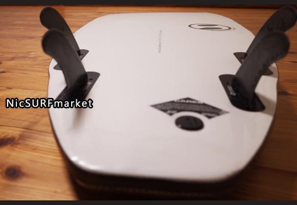 BS ステルス ソフトサーフボード 中古ショートボード  クアッド 5`4 bottom-design No.96291456