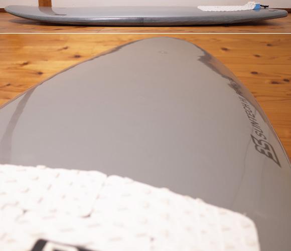 BS ステルス ハイブリッド シモンズ 中古ソフトサーフボード 5`5 deck-condition No.96291457