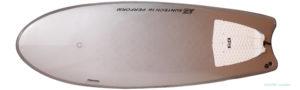 BS ステルス ハイブリッド シモンズ 中古ソフトサーフボード 5`5 deck-zoom No.96291457