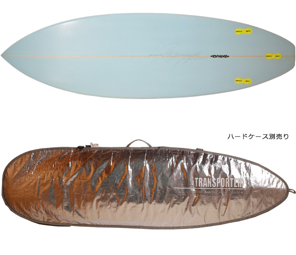 A-shape BLUE WALL Surfboard AN-TIモデル 中古ショートボード 6`0 fin/ハードケース No.96291459