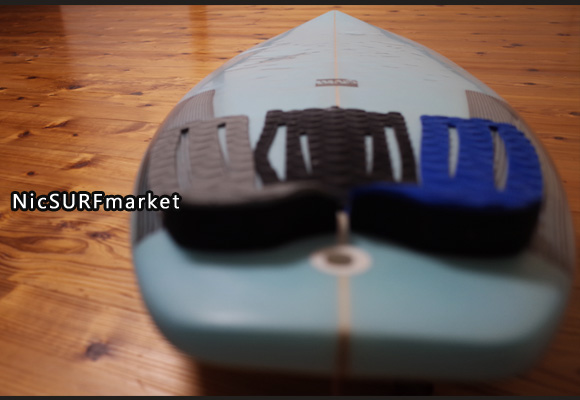 A-shape BLUE WALL Surfboard AN-TIモデル 中古ショートボード 6`0 deck-detail No.96291459