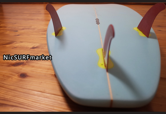 A-shape BLUE WALL Surfboard AN-TIモデル 中古ショートボード 6`0 bottom-design No.96291459