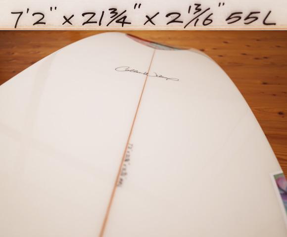 RIKKA FEMME(リッカファム)×Colleen Wikcox(コリーン・ウィルコックス) 限定モデル 中古ファンボード 7`2 condition No.96291460