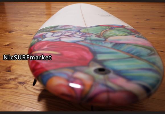RIKKA FEMME(リッカファム)×Colleen Wikcox(コリーン・ウィルコックス) 限定モデル 中古ファンボード 7`2 deck-detail No.96291460