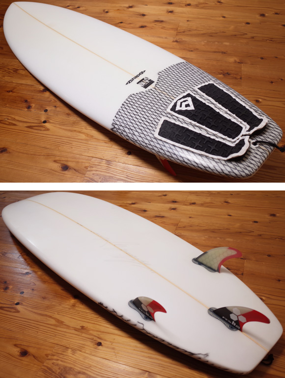 A-shape 中古ショートボード 6`0 オルタナティブ deck/bottom No.96291461