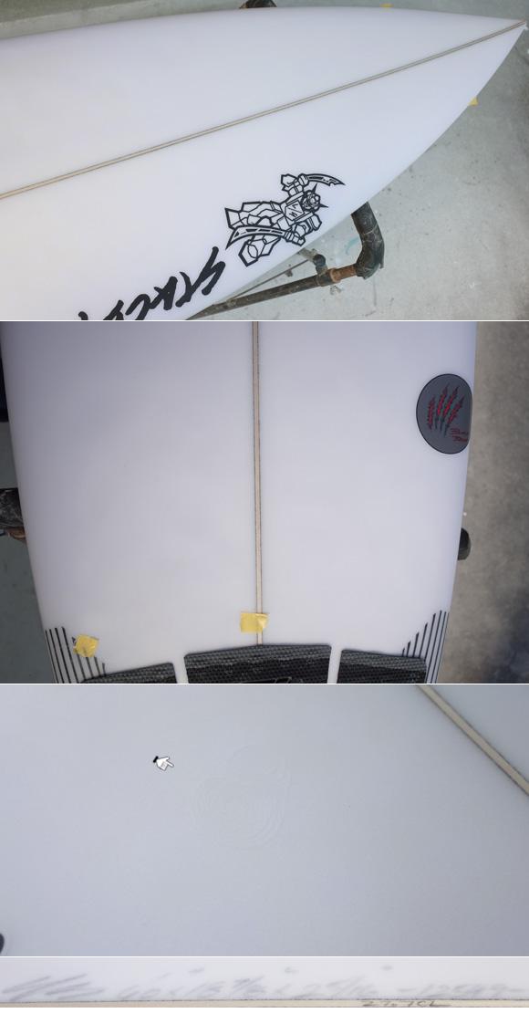 「仕入れ情報」STACEY ステイシー BLACK BEAR 6`0の中古サーフボード入荷 condition