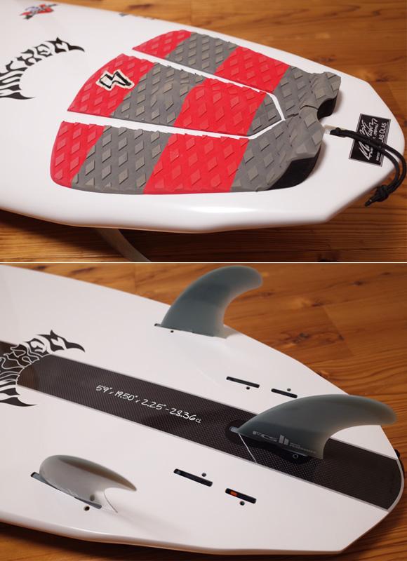 プレセボ  V3ロケット 中古サーフボード 5`9 tail No.96291466