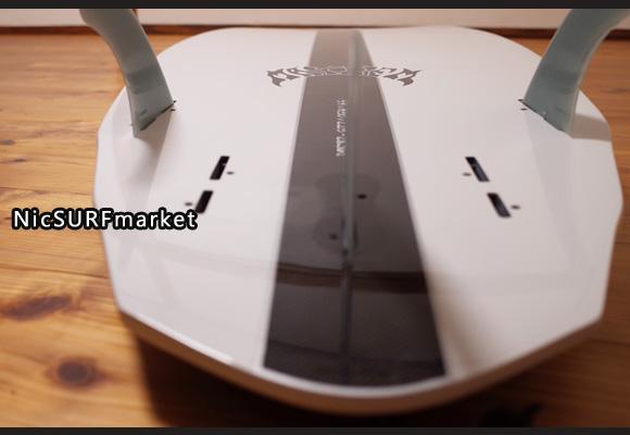 プレセボ  V3ロケット 中古サーフボード 5`9 bottom-design No.96291466