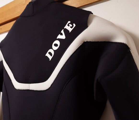 DOVE ダブ ウェットスーツ 中古 3/2mm フルスーツ D T-TYPE メンズ back-condition No.96291467