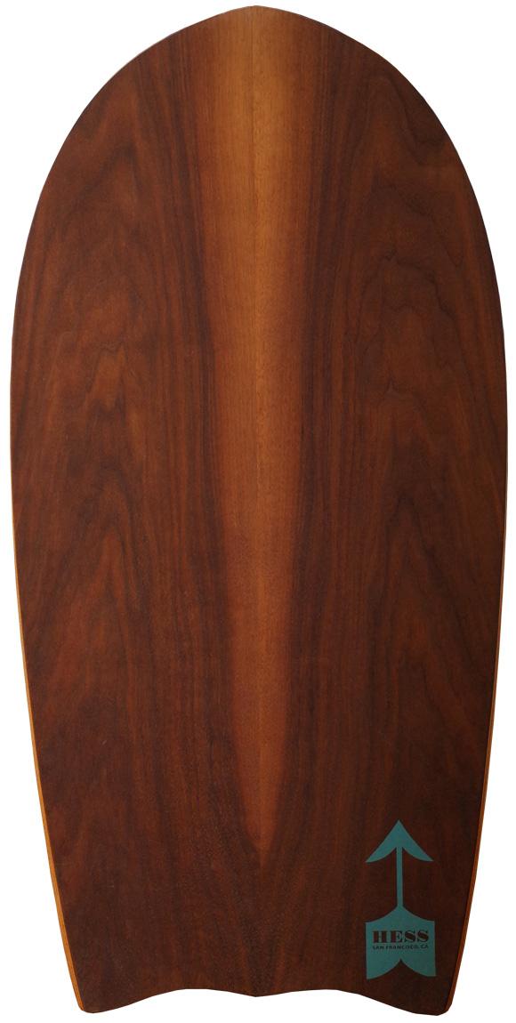 Hess ヘスサーフボード 36 Peanut Shark ボディボード deck-condition No.96291473