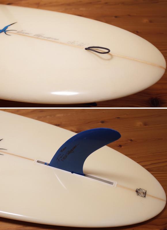 ドナルドタカヤマ Flow Egg フローエッグモデル 6`6 中古サーフボード tail No.96291474
