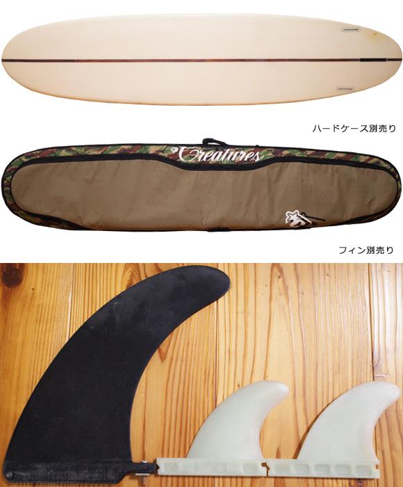 KI SURFBOARDS PLUMPYモデル 9`4 EPS 中古ロングボード ハードケース/フィン (No.96291475)