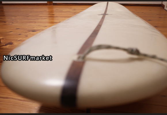 KI SURFBOARDS PLUMPYモデル 9`4 EPS 中古ロングボード deck-detail (No.96291475)