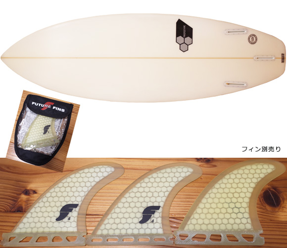 Channel Islands Surfboards PROTOTYPE 中古ショートボード 5`6  fin/option No.96291483