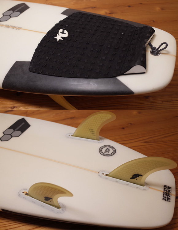 Channel Islands Surfboards PROTOTYPE 中古ショートボード 5`6  tail No.96291483