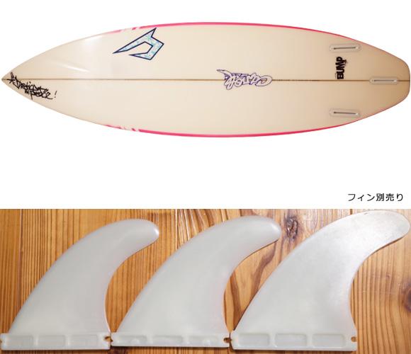 ジャスティスサーフボード T2 BUMP 中古ショートボード 6`0 FIN/option No.96291484