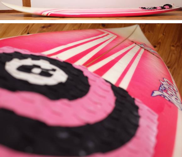 ジャスティスサーフボード T2 BUMP 中古ショートボード 6`0 deck-condition No.96291484
