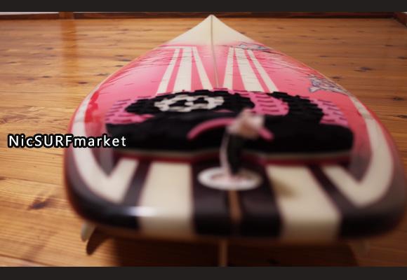 ジャスティスサーフボード T2 BUMP 中古ショートボード 6`0 deck-detail No.96291484