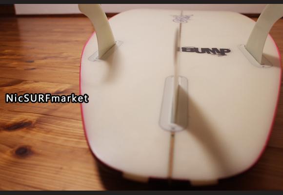 ジャスティスサーフボード T2 BUMP 中古ショートボード 6`0 bottom-design No.96291484