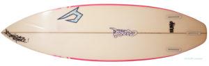 ジャスティスサーフボード T2 BUMP 中古ショートボード 6`0 bottom-zoom No.96291484