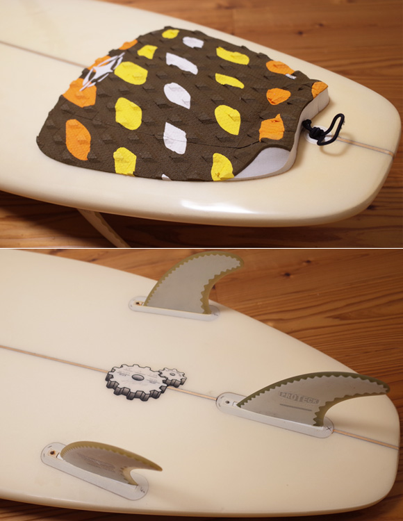 SK SURFBOARD SK06 中古ショートボード 6`4 tail No.96291485