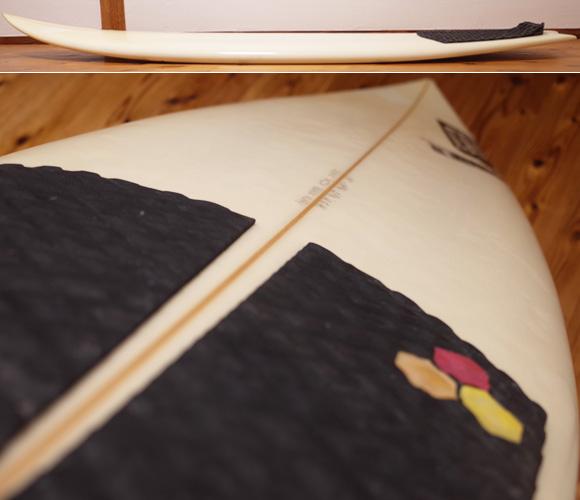 チャネルアイランドサーフボード アルメリック Black Flag Whip 中古ショートボード 5`9  deck-condition No.96291486