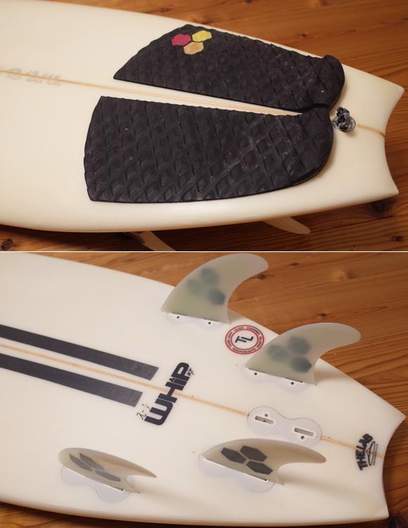 チャネルアイランドサーフボード アルメリック Black Flag Whip 中古ショートボード 5`9  tail No.96291486