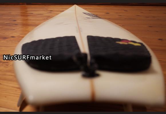 チャネルアイランドサーフボード アルメリック Black Flag Whip 中古ショートボード 5`9  deck-detail No.96291486
