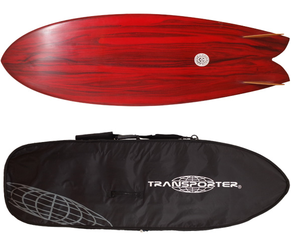 Neal Purchase Jnr Surfboards TWIN FISH 5`7 中古サーフボード ハードケース/option No.96291487