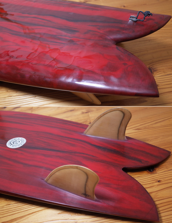 Neal Purchase Jnr Surfboards TWIN FISH 5`7 中古サーフボード tail No.96291487
