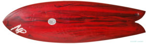 Neal Purchase Jnr Surfboards TWIN FISH 5`7 中古サーフボード deck-zoom No.96291487