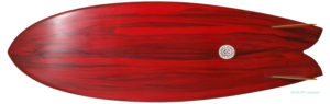 Neal Purchase Jnr Surfboards TWIN FISH 5`7 中古サーフボード bottom-zoom No.96291487