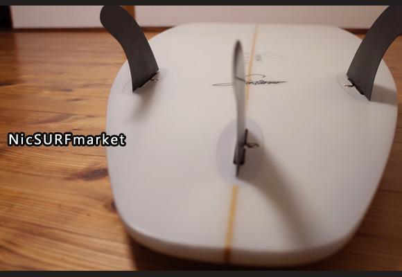 SHINTAROW SHAPES SHINNYサーフボード 中古ショートボード 6`3 bottom-design No.96291489