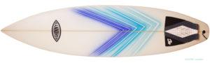 SHINTAROW SHAPES SHINNYサーフボード 中古ショートボード 6`3 deck-zoom No.96291489