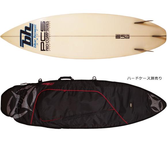 BLUE HAWAII SURF ヴィンテージ 80s' PRO COMP SERIES 中古ショートボード 6`1 ハードケース No.96291490