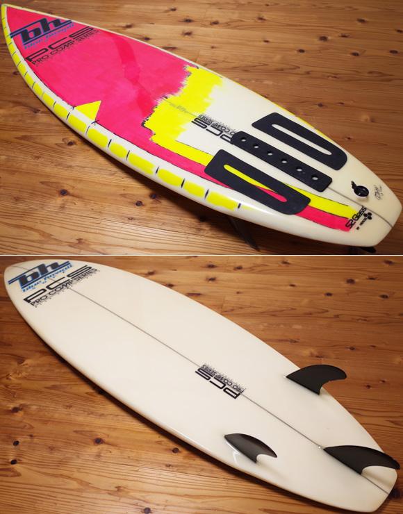 BLUE HAWAII SURF ヴィンテージ 80s' PRO COMP SERIES 中古ショートボード 6`1 deck/bottom No.96291490