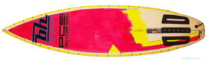 BLUE HAWAII SURF ヴィンテージ 80s' PRO COMP SERIES 中古ショートボード 6`1 deck-zoom No.96291490