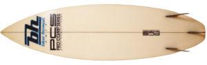 BLUE HAWAII SURF ヴィンテージ 80s' PRO COMP SERIES 中古ショートボード 6`1 bottom-zoom No.96291490