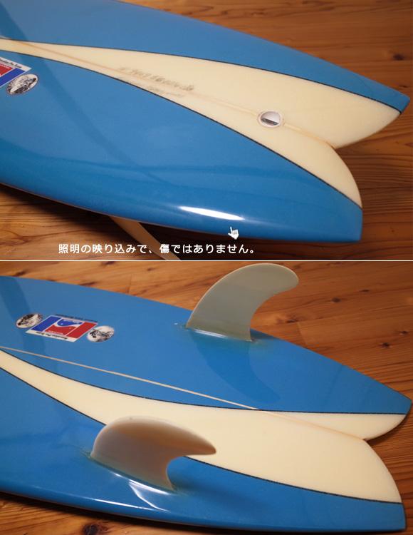 ハワイアンプロデザイン ドナルドタカヤマ / LARRY BERTLEMANN  中古TWIN FIN 5`6 tail-condition No.96291493