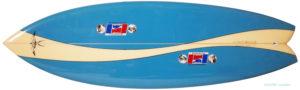 ハワイアンプロデザイン ドナルドタカヤマ / LARRY BERTLEMANN 中古TWIN FIN 5`6 deck-zoom No.96291493