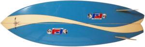 ハワイアンプロデザイン ドナルドタカヤマ / LARRY BERTLEMANN 中古TWIN FIN 5`6 bottom-zoom No.96291493