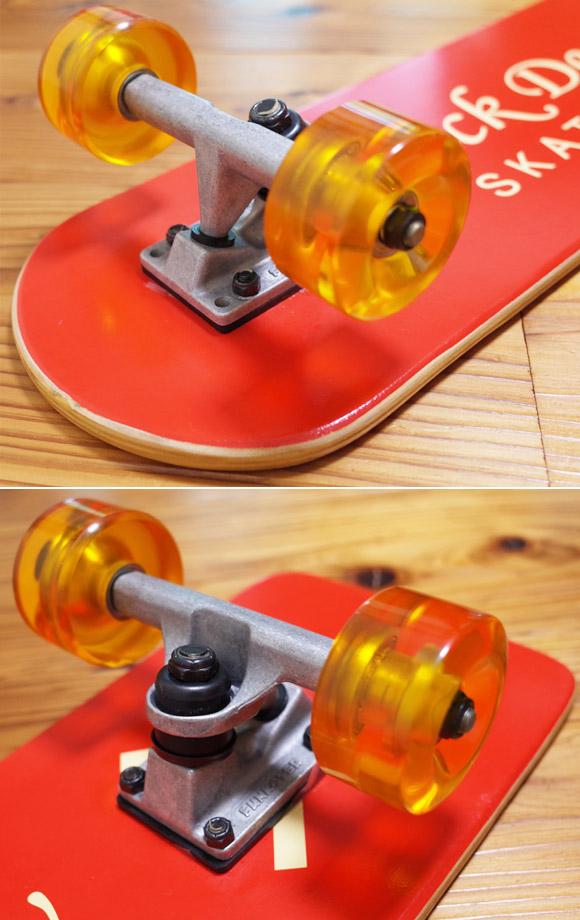 50's レプリカ スケートボード 中古 DELS Vintage Skate Board ウィール/トラック No.96291494