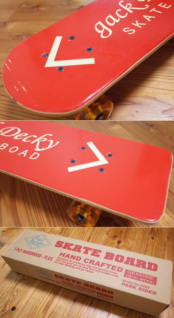 50's レプリカ スケートボード 中古 DELS Vintage Skate Board condition No.96291494