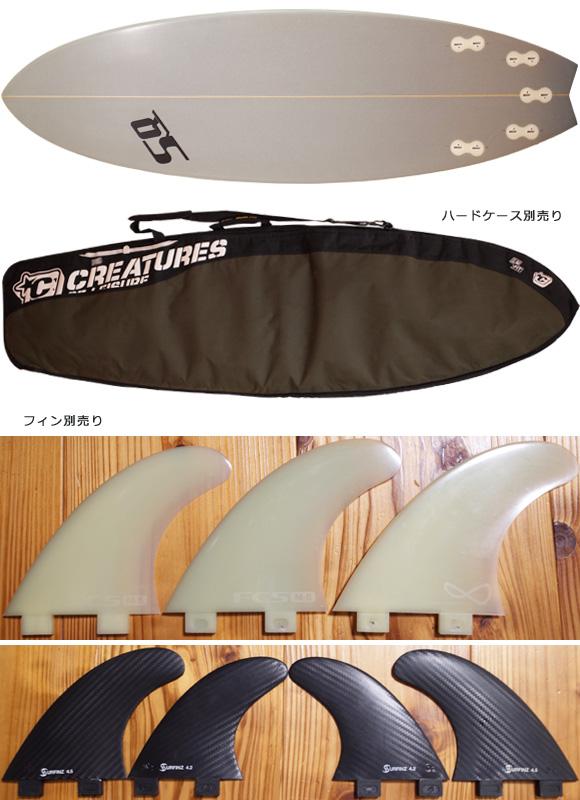 SEQUENCE 中古ショートボード 5`8 CUSTOM fin/ハードケース No.96291328