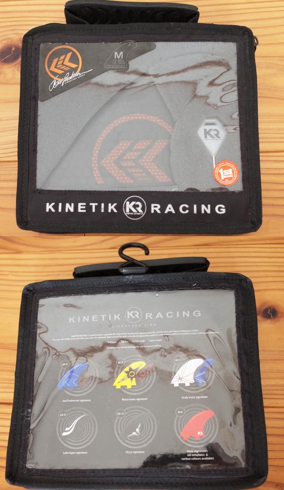 KINETIK RACING  JP-5 パーコモデル FUTURES FIN Mサイズ ケース No.96291499