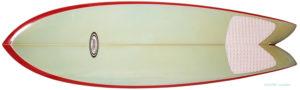 スチュワートサーフボード Stewart 中古レトロフィッシュ 6`0 deck-zoom No.96291501