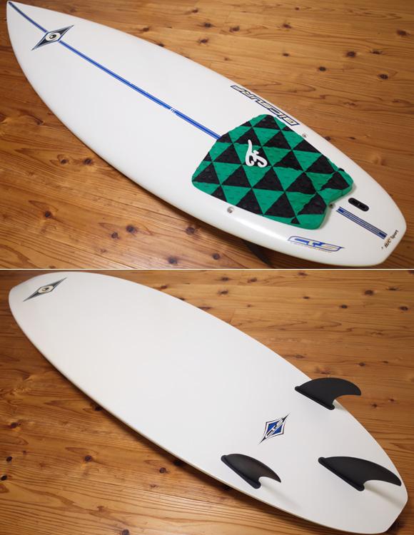 ビック サーフボード BIC 中古ショートボード6`2 EPOXYモールド deck/bottom No.96291507