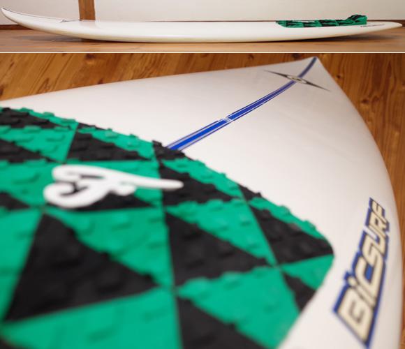 ビック サーフボード BIC 中古ショートボード6`2 EPOXYモールド deck-condition No.96291507