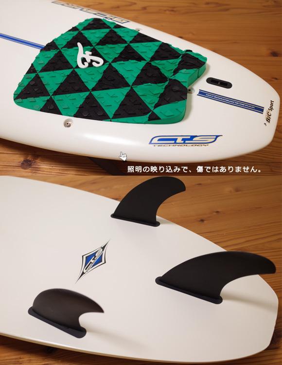 ビック サーフボード BIC 中古ショートボード6`2 EPOXYモールド tail No.96291507
