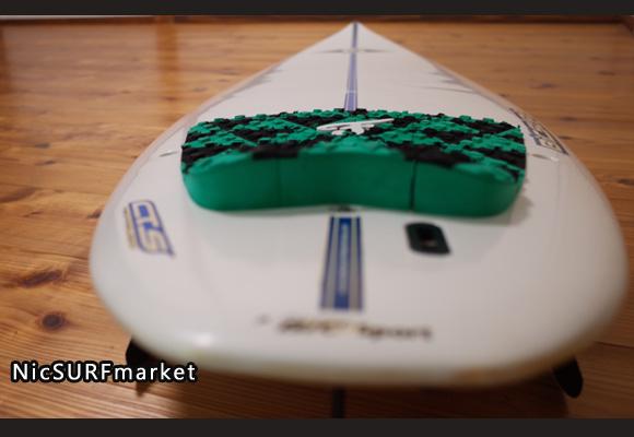ビック サーフボード BIC 中古ショートボード6`2 EPOXYモールド deck-detail No.96291507